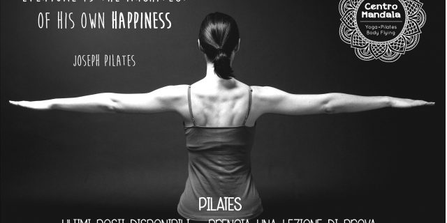 PILATES – ULTIMI POSTI DISPONIBILI